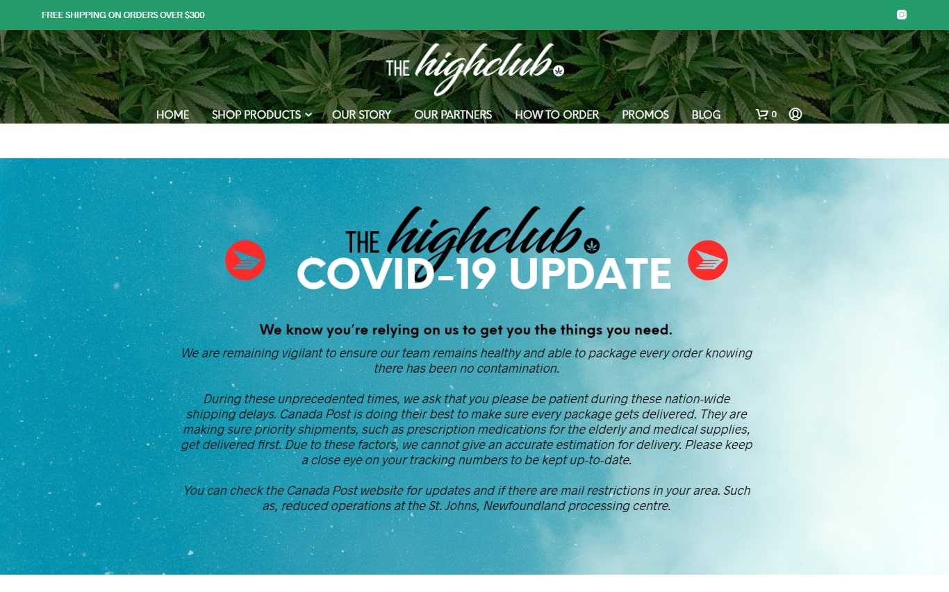 The High Club Online Dispensary for Wholesale BC Bud